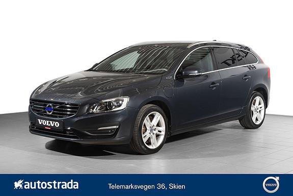 Volvo V60 D5 Summum Twin Engine VOC, Keyless, Krok, Navi, Skinn  2015, 50290 km, kr 299000,-