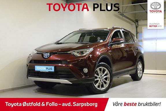 Toyota RAV4 Hybrid AWD Executive , HENGERFESTE,  2017, 29300 km, kr 428000,-