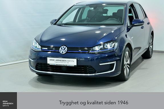 Volkswagen Golf E-GOLF 5D 116 HK  *INNBYTTEKAMPANJE*  2016, 38550 km, kr 199900,-