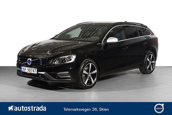 Volvo V60 D6 R-Design Twin Engine  2018, 18049 km, kr 469000,-