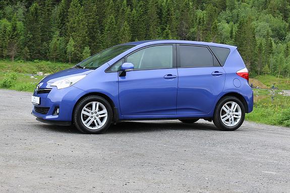 Toyota Verso-S 1,4 D-4D Sense  2011, 46753 km, kr 129000,-
