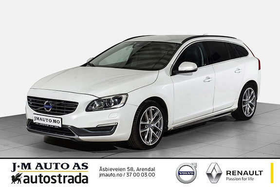 Volvo V60 D2 Momentum 119g aut VOC, R-Kamera, skinn ++  2014, 134000 km, kr 179000,-