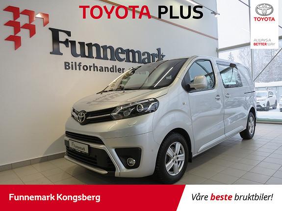 Toyota Proace 2,0 D 122 Comfort Plus L1H1  2018, 15200 km, kr 299900,-
