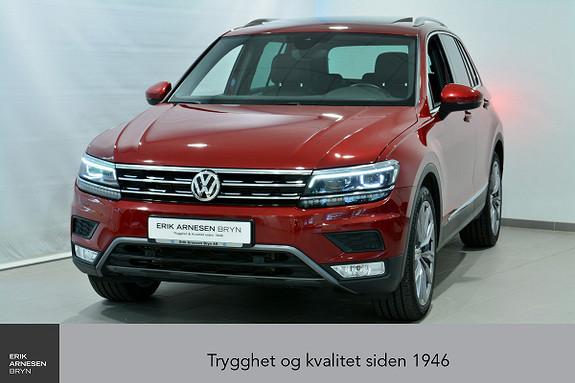 Volkswagen Tiguan 2,0 TSI 180hk 4M DSG Highline *INNBYTTEKAMPANJE*  2017, 44500 km, kr 429900,-