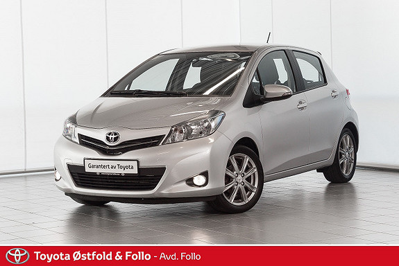 Toyota Yaris 1,33 Style Toppmodell m hengerfeste  2012, 75851 km, kr 119000,-