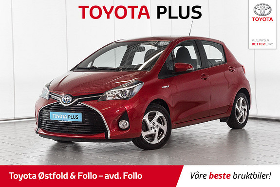 Toyota Yaris 1,5 Hybrid Active S e-CVT  2016, 31077 km, kr 175000,-