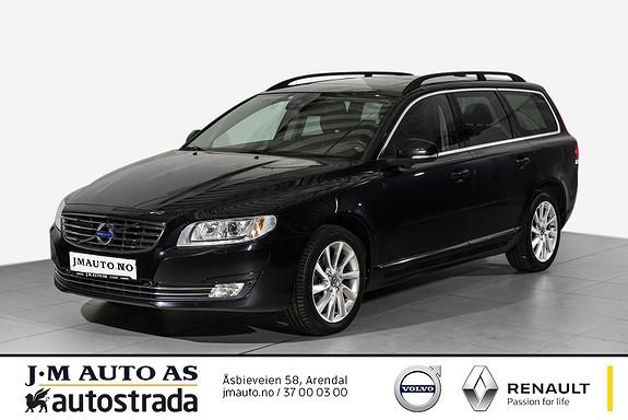 Volvo V70 D4 Momentum aut Driver Supp, VOC, Navi, Soltak ++  2015, 90717 km, kr 289000,-