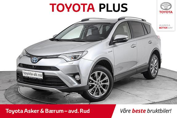Toyota RAV4 Hybrid AWD Executive  2018, 17224 km, kr 459000,-