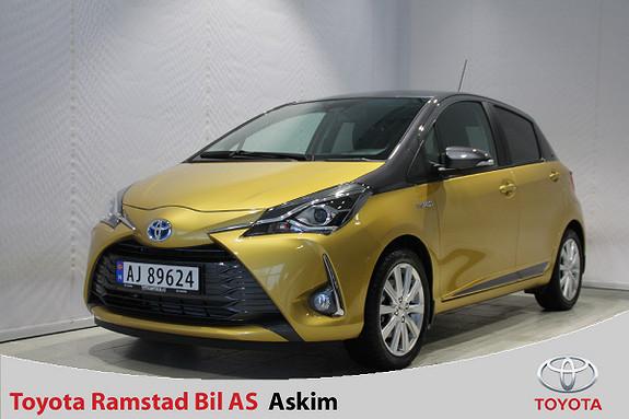 Toyota Yaris 1,5 Hybrid Y20+ Bi-Tone e-CVT aut  2019, 1000 km, kr 239000,-