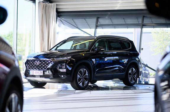 Hyundai Santa Fe 2,2 CRDi 4WD aut Topp model  2019, 22000 km, kr 698000,-