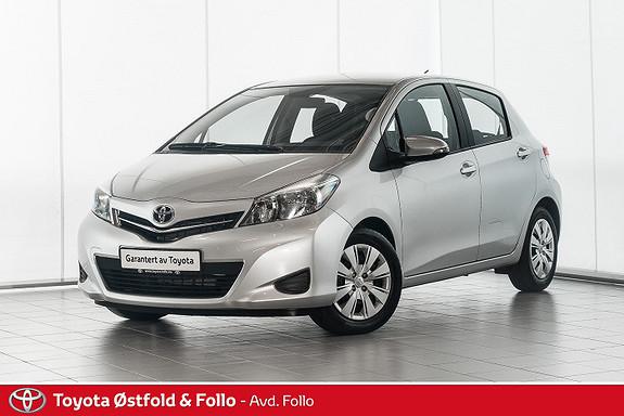 Toyota Yaris 1,33 Active  2012, 23702 km, kr 119000,-