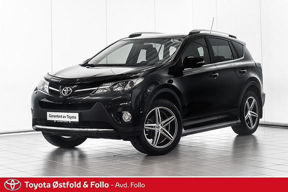 Toyota RAV4 2,0 D-4D 4WD Active Style  2014, 55130 km, kr 269000,-