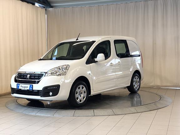 Peugeot Partner Mester 1,6 BlueHDi 100hk  L1  2018, 100 km, kr 189000,-