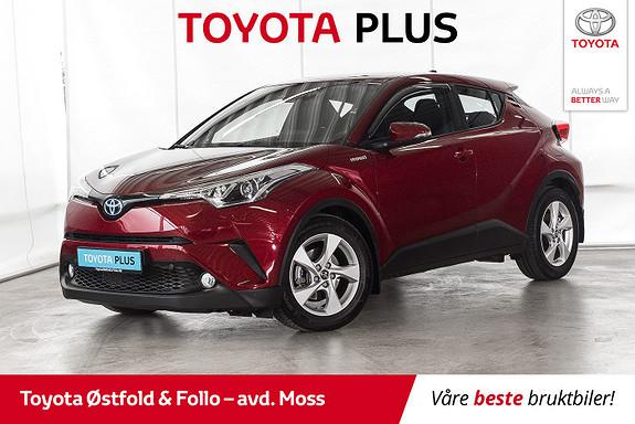 Toyota C-HR 1,8 WT-i Hybrid Active /VELHOLDT/LAV KM  2018, 11500 km, kr 298000,-