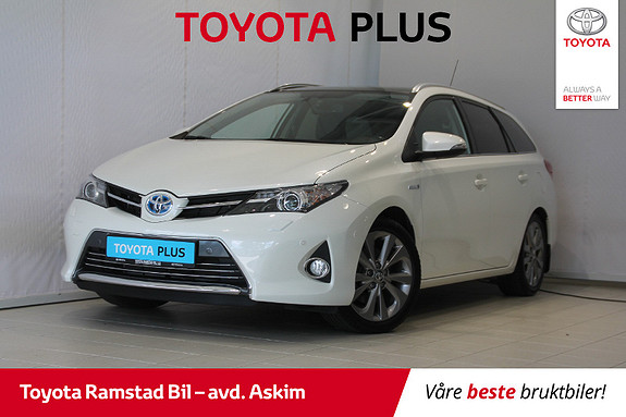 Toyota Auris Touring Sports 1,8 Hybrid Executive Glasstak!  2015, 58 040 km, kr 189 000,-