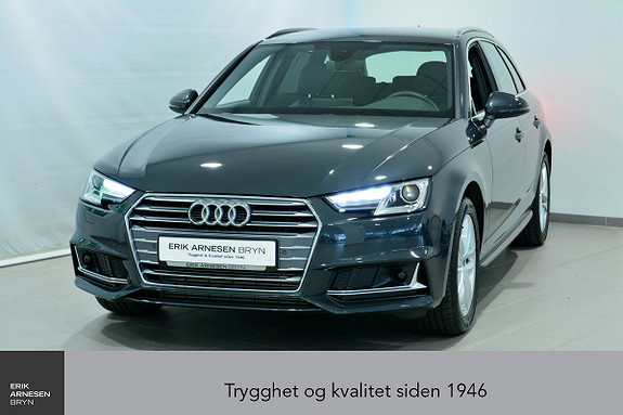 Audi A4 Avant 35 2,0 TFSI 150Hk S-tronic  *INNBYTTEKAMPANJE*  2019, 850 km, kr 499900,-
