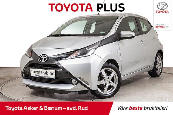 Toyota Aygo x-play 1,0  2016, 33800 km, kr 129000,-