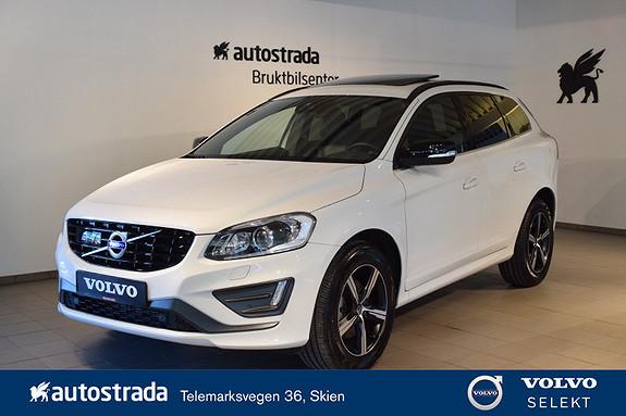 Volvo XC 60 D4 2,4D 190hk R-Design AWD aut Norsk nybilgaranti 5år  2017, 39229 km, kr 539000,-