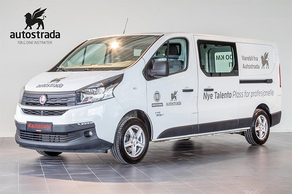 Fiat Talento 1.6  125hk BiTurbo L2H1 Pluss  2018, 11000 km, kr 279000,-