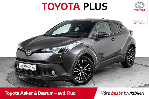 Toyota C-HR 1,8i Hybrid Supreme Hengerfeste og Defa motor&kupevarme  2017, 40593 km, kr 292000,-