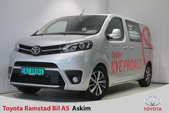 Toyota Proace 2,0 D 177 Comfort Plus L1H1 aut Komfortvegg, Navi, Xenon  2018, 17000 km, kr 335000,-