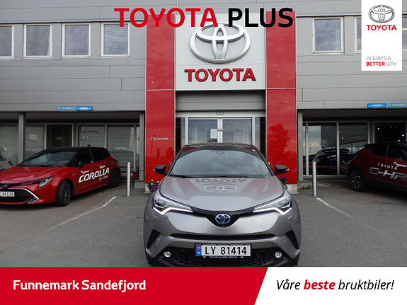 Toyota C-HR 1,8 WT-i Hybrid Dynamic Tech  2017, 30300 km, kr 319000,-