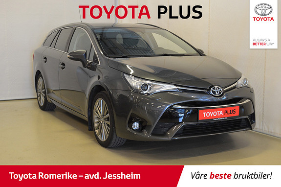 Toyota Avensis Touring Sports 1,8 Active Style M-drive 7S Skinn,  2016, 71380 km, kr 249000,-