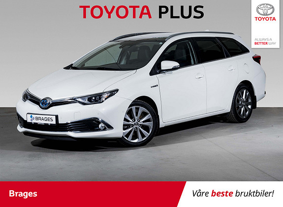 Toyota Auris Touring Sports 1,8 Hybrid Executive Skinn, JBL, Panorama  2016, 32600 km, kr 229000,-