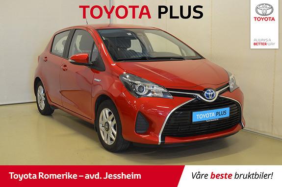 Toyota Yaris 1,5 Hybrid Active S e-CVT Regnsensor, 2 sone klima  2016, 52720 km, kr 179000,-