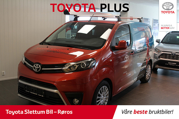 Toyota Proace 1,6 D 95 Comfort Compact L0H1  2017, 46180 km, kr 245000,-