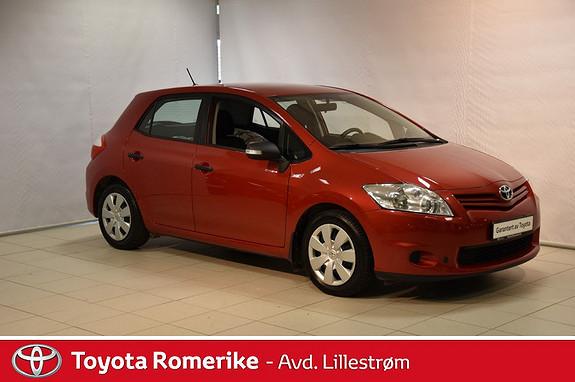 Toyota Auris 1,33 Dual VVT-i Stop&Start Comfort  2011, 136500 km, kr 69000,-