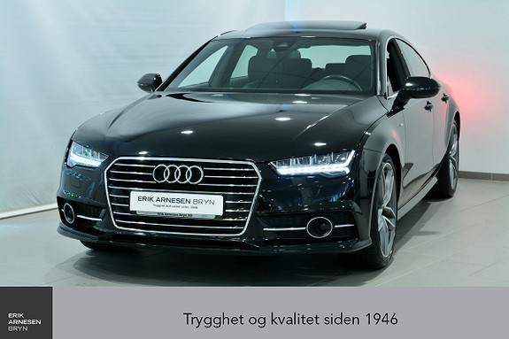 Audi A7 2,0 TFSI 252hk S tronic *INNBYTTEKAMPANJE*  2016, 20500 km, kr 539900,-