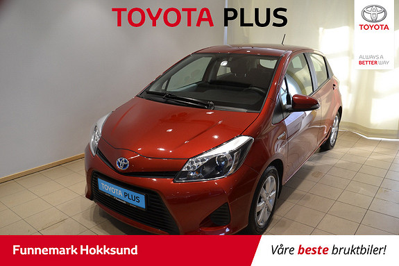 Toyota Yaris 1,5 Hybrid Active e-CVT  2014, 47600 km, kr 139000,-
