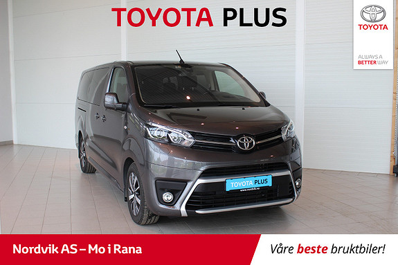 Toyota Proace Verso Lang 2,0D 177 Executive Family aut  2018, 31 882 km, kr 629 000,-