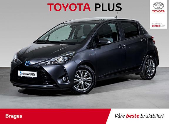 Toyota Yaris 1,5 Hybrid Active+ e-CVT aut Navi, Cruise, DAB+, R.kam  2017, 31400 km, kr 189000,-