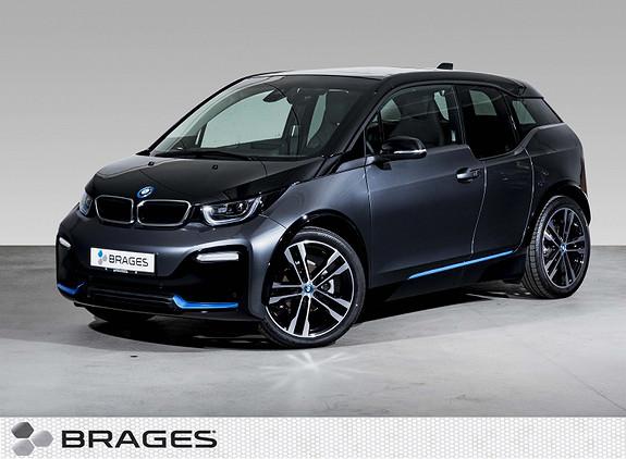 BMW i3 S 120Ah NaviPro, Soltak, H/K, ActiveCruise, Adap.LED++  2019, 3700 km, kr 349000,-
