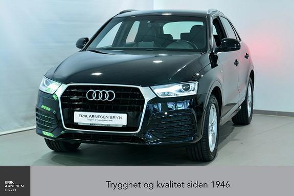 Audi Q3 2,0 TDI 150hk quattro S tronic *INNBYTTEKAMPANJE*  2016, 45200 km, kr 359900,-