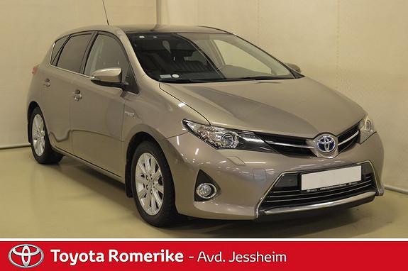 Toyota Auris 1,8 Hybrid E-CVT Executive KAMPANJE SE TEKST  2013, 106000 km, kr 159000,-
