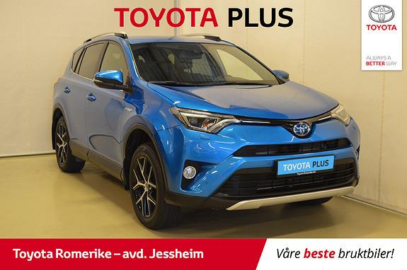Toyota RAV4 Hybrid AWD Active Style Delskinn,  2016, 60446 km, kr 369000,-