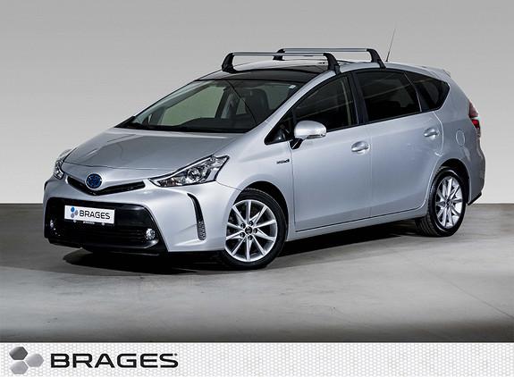 Toyota Prius+ Seven 1,8 VVT-i Hybrid Executive Skyview AdaptCruise, Skinn  2016, 33600 km, kr 289000,-