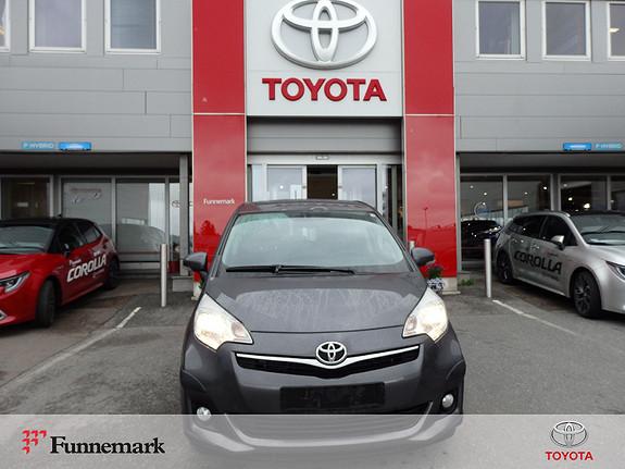 Toyota Verso-S 1,33 Elegant S&S Multidrive S  2011, 125000 km, kr 125000,-