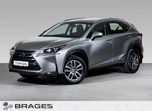Lexus NX 300h Business Navi, RadarCruise, Skinn, R.kam, DAB+  2015, 76300 km, kr 375000,-