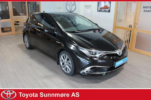 Toyota Auris 1,8 Hybrid E-CVT Executive **MYE UTSTYR**DELSKINN**  2016, 36810 km, kr 219000,-