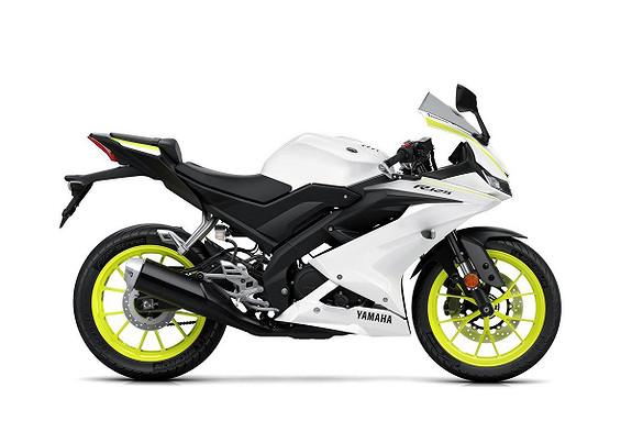 Bilbilde: Yamaha YZF-R125