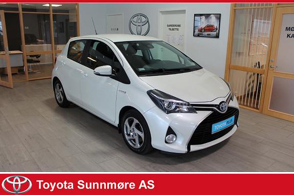 Toyota Yaris 1,5 Hybrid Active S e-CVT **LAV KM**NYBILGARANTI**RYGGE  2016, 26602 km, kr 179000,-