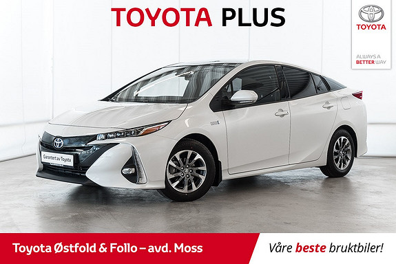 Toyota Prius Plug-in Hybrid 1,8 VVT-i Solar PHV /SOLCELLETAK/LAV KM  2017, 10000 km, kr 284000,-