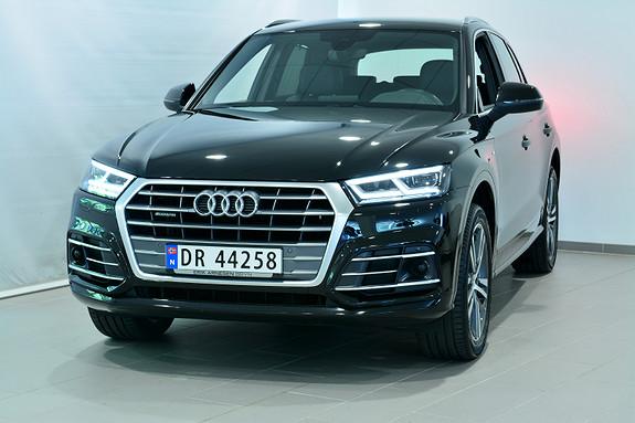 Audi Q5 190 HK TDI Q/S SPORT  2018, 27000 km, kr 699000,-