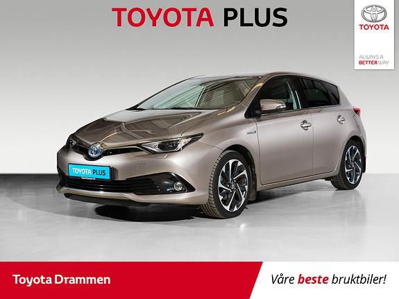 Toyota Auris 1,8 Hybrid E-CVT Style  2016, 54385 km, kr 198000,-