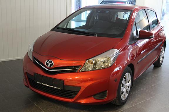 Toyota Yaris 1,4 D-4D Active KROK/MOTOR OG KUPEVARMER/R.KAMERA/DAB+  2012, 98600 km, kr 99000,-