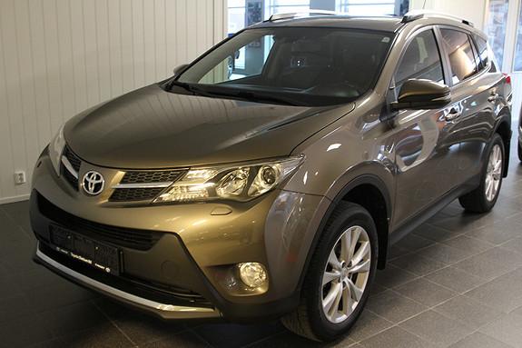 Toyota RAV4 2,0 4WD Executive TAKLUKE/KROK/SKINN/RYGGEKAMERA/NAVI  2013, 94721 km, kr 269000,-